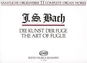 BACH - Die Kunst Der Fugue - Partition - di-arezzo.fr