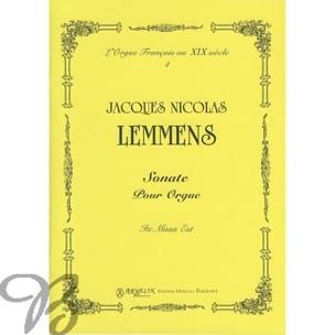 Sonate Ite Missa Est Nicolas-Jacques Lemmens Partition laflutedepan