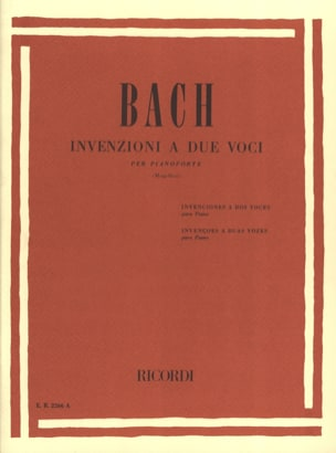 BACH - Inventions A 2 Voices - Sheet Music - di-arezzo.com