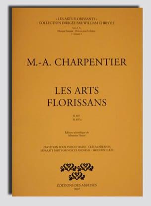 Marc-Antoine Charpentier - Les Arts Florissans. H 487 et 487a - Partition - di-arezzo.fr