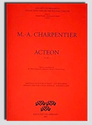 Marc-Antoine Charpentier - Actaeon H 481 - Sheet Music - di-arezzo.com