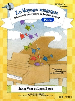 Vogt Janet / Bates Leon / Blet Stéphane - The Magic Travel Piano Level 4 Traveler - Sheet Music - di-arezzo.co.uk