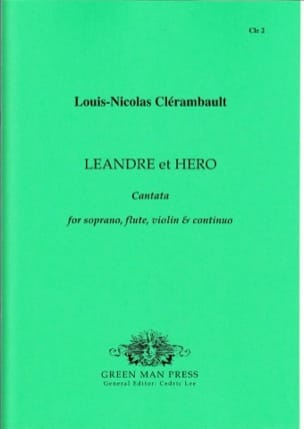 Léandre et Héro - Louis-Nicolas Clérambault - laflutedepan.com