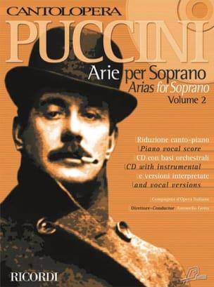 Giacomo Puccini - Arie Per Soprano Volume 2 - Sheet Music - di-arezzo.co.uk