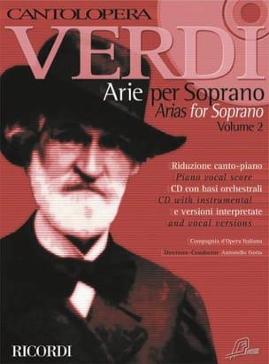 Arie Per Soprano. Volume 2 - VERDI - Partition - laflutedepan.com