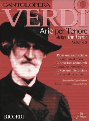 Arie Per Ténor Volume 2 - Giuseppe Verdi - laflutedepan.com