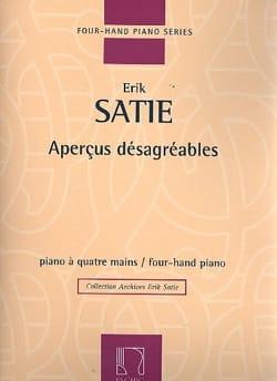 Erik Satie - Aperçus Désagréables. 4 Mains - Partition - di-arezzo.fr