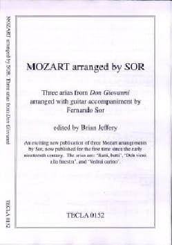 MOZART - 3 Arias From Don Giovanni - Sheet Music - di-arezzo.com