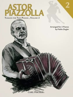 Astor Piazzolla - Tangos For 2 Pianos Volume 2 - Partition - di-arezzo.fr