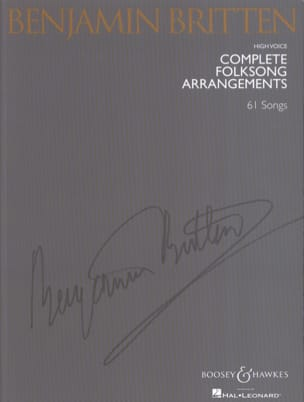 Benjamin Britten - Complete Folksongs Arrangements. Aloud - Sheet Music - di-arezzo.co.uk