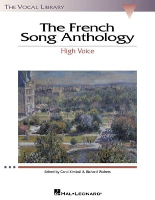 The French Song Anthology. Voix Haute - Partition - di-arezzo.fr
