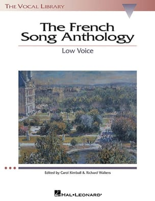 - The French Song Anthology. Voix Grave - Partition - di-arezzo.ch