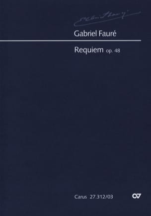 Gabriel Fauré - Requiem Opus 48 Version 1900 - Partition - di-arezzo.fr