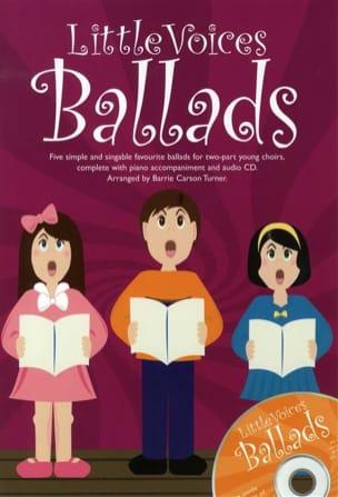 - Little Voices Ballads - Partition - di-arezzo.fr