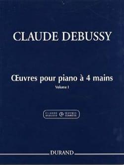 Oeuvres Pour Piano à 4 Mains Volume 1 - laflutedepan.com
