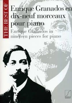 19 Morceaux pour piano Enrique Granados Partition Piano - laflutedepan