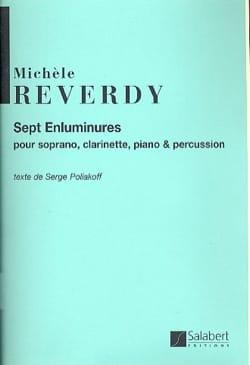 Michèle Reverdy - 7 Enluminures - Partition - di-arezzo.fr
