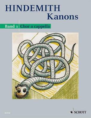 Kanons 1 - Paul Hindemith - Partition - Chœur - laflutedepan.com