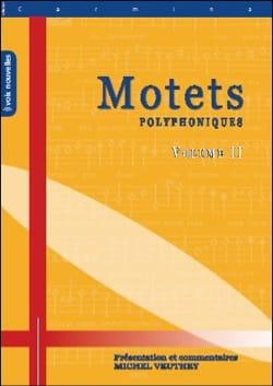 Motets Polyphoniques Volume 2 - Partition - laflutedepan.com