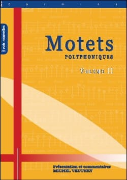 - Motets Polyphoniques Volume 2 - Partition - di-arezzo.fr