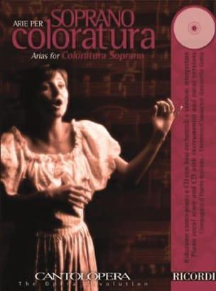 Arie Per Soprano Coloratura Volume 1 - laflutedepan.com