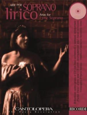 Arie Per Soprano Lirico Partition Opéras - laflutedepan