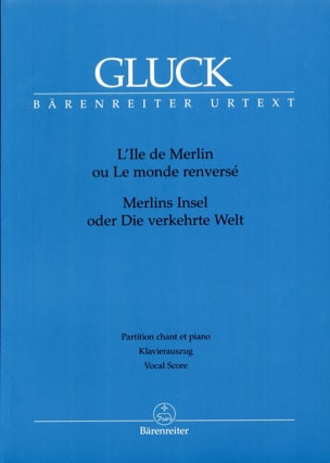 GLUCK - The island of Merlin - Sheet Music - di-arezzo.com