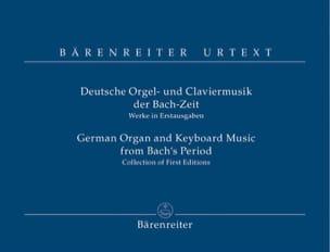 Deutsche Orgel-Und Claviermusik Der Bach-Zeit Partition laflutedepan
