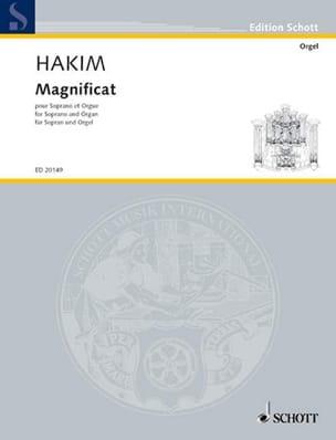 Naji Hakim - Magnificat - Partition - di-arezzo.fr