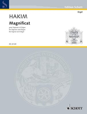 Naji Hakim - Magnificat - Sheet Music - di-arezzo.co.uk