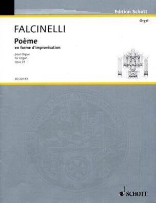 Rolande Falcinelli - Poème En Forme D'improvisation Op. 31 - Partition - di-arezzo.fr