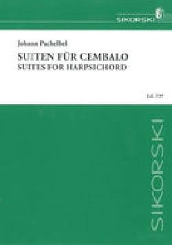 20 Suiten Für Cembalo PACHELBEL Partition Clavecin - laflutedepan