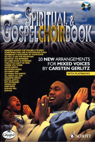 The Spirituals And Gospels Choirbook Partition Chœur - laflutedepan