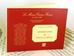 Jean-François Dandrieu - 1er Livre de Pièces D'orgue - Partition - di-arezzo.fr