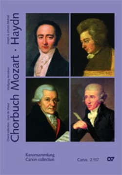 Chorbuch Volume 7 - Canons MOZART / HAYDN Partition laflutedepan