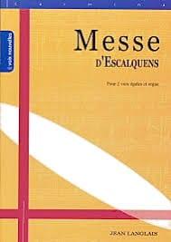 Jean Langlais - Messe D'Escalquens Opus 19 - Partition - di-arezzo.fr
