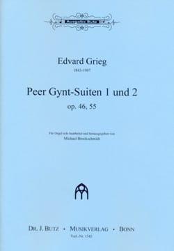 Suites de Peer Gynt 1 et 2 Op. 46 et 55 - laflutedepan.com