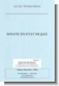 Alexis Weissenberg - Sonate En Etat de Jazz - Partition - di-arezzo.fr