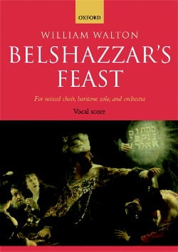 Belshazzar's Feast - William Walton - Partition - laflutedepan.com