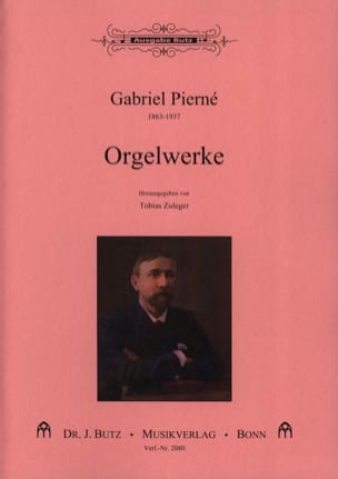 Orgelwerke PIERNE Partition Orgue - laflutedepan