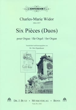 Charles-Marie Widor - 6 Pièces Duos - Partition - di-arezzo.fr