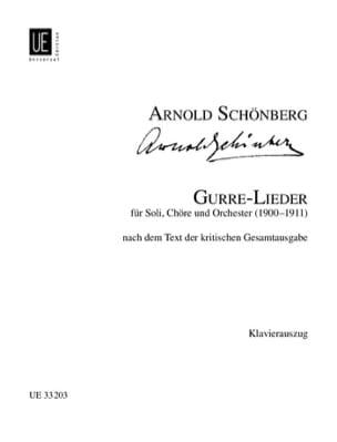 Gurre-Lieder Arnold Schoenberg Partition Chœur - laflutedepan