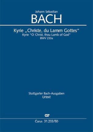 Kyrie BWV 233a Christe Du Lamm Gottes - BACH - laflutedepan.com