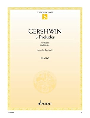 Georges Gershwin - 3 Preludes - Sheet Music - di-arezzo.co.uk