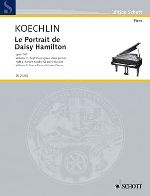 Charles Koechlin - Portrait de Daisy Hamilton Vol 3 Op. 140 - Partition - di-arezzo.fr