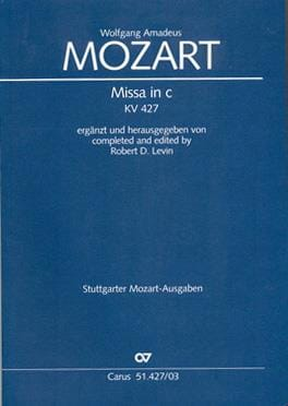 MOZART - Great Mass In C Minor K 427 - Sheet Music - di-arezzo.com