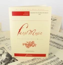 Jacques Duphly - Quatrième Livre de Pièces de Clavecin - Partition - di-arezzo.fr