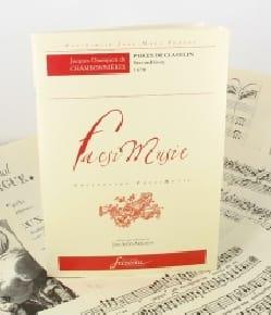de Chambonnières Jacques Champion - Pièces de Clavecin. Second Livre - Partition - di-arezzo.fr