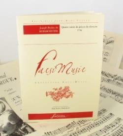 de Boismortier Joseph Bodin - Quatre Suites de Pièces de Clavecin, Œuvre 59 - Partition - di-arezzo.fr