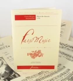 Claude-Bénigne Balbastre - Pièces de Clavecin, Premier Livre - Partition - di-arezzo.fr